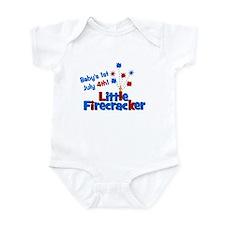 Baby's 1st July 4th! Little F Infant Bodysuit
