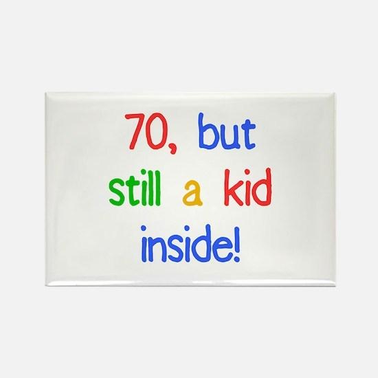 Fun 70th Birthday Humor Rectangle Magnet