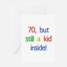 Fun 70th Birthday Humor Greeting Card