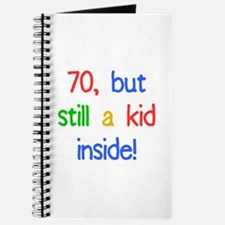 Fun 70th Birthday Humor Journal