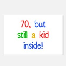 Fun 70th Birthday Humor Postcards (Package of 8)
