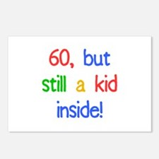 Fun 60th Birthday Humor Postcards (Package of 8)