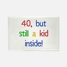 Fun 40th Birthday Humor Rectangle Magnet