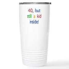 Fun 40th Birthday Humor Travel Coffee Mug