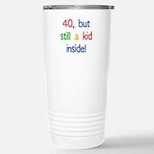 Fun 40th Birthday Humor Travel Mug