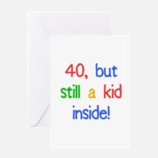 Fun 40th Birthday Humor Greeting Card