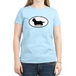 Yorkie Euro Oval Women's Light T-Shirt