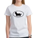 Yorkie Euro Oval Women's T-Shirt