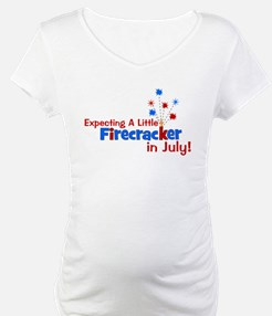 Little Firecracker in July. Shirt
