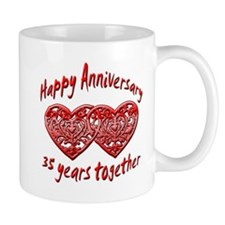 Cute 35th wedding anniversary Mug