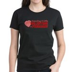 Little Valentine February Women's Dark T-Shirt