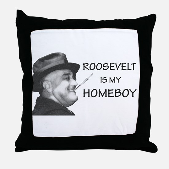Unique Democracy Throw Pillow