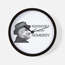 FDR Homeboy Wall Clock