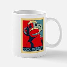 Sock Monkey Hope Mug