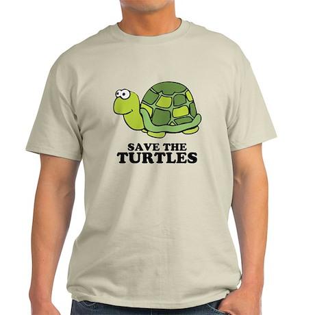 Save Turtles Light T-Shirt