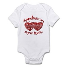 Cool 50th wedding anniversary Infant Bodysuit