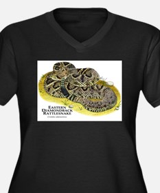 Eastern Diamondback Rattlesnake Women's Plus Size
