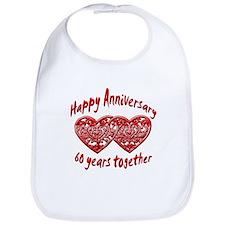 Unique Wedding anniversaries Bib