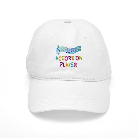 Musical Accordion Player Cap