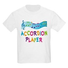 Musical Accordion Player T-Shirt
