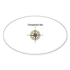 Chesapeake Compass Rose Decal