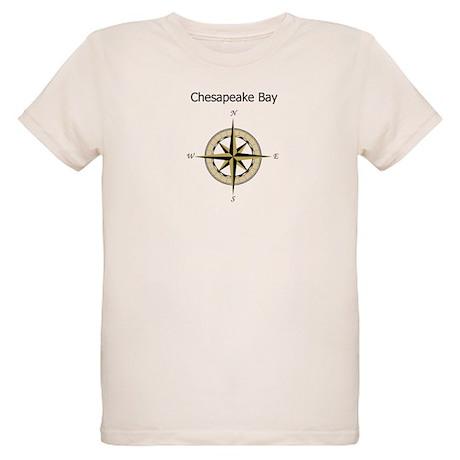 Chesapeake Compass Rose Organic Kids T-Shirt