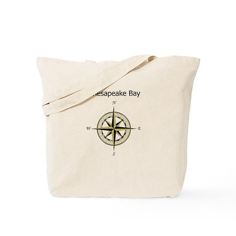 Chesapeake Compass Rose Tote Bag
