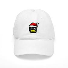 White Tux Santa Cap