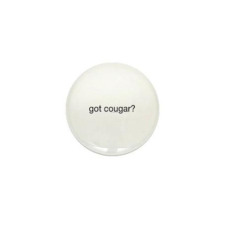 Got cougar? Mini Button (100 pack)