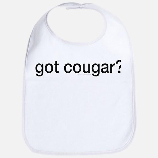 Got cougar? Bib