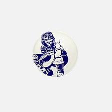 CATCHER *1* {blue} Mini Button