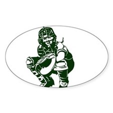 CATCHER *1* {dk green} Decal