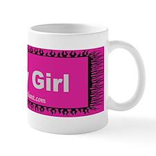 Tea Party Girl Mug