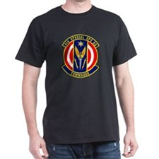 6th Special Operations Black T-Shirt