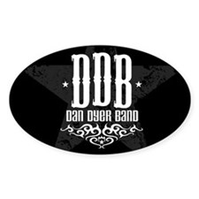 DDB BLK/Oval Decal Oval Decal