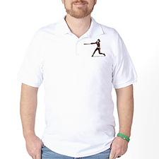 SOFTBALL PLAYER *5* {crimson} T-Shirt