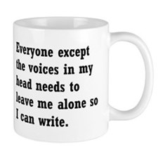 Leave Me Alone to Write Mug