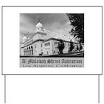 Shrine Auditorium Yard Sign