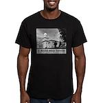 Shrine Auditorium Men's Fitted T-Shirt (dark)