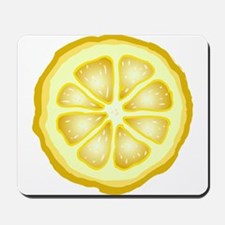 Lemon Slice Mousepad