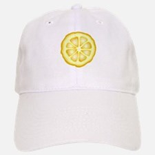 Lemon Slice Baseball Baseball Cap
