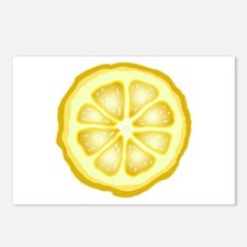 Lemon Slice Postcards (Package of 8)