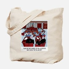 First the Loopholes, then the Tax Law Tote Bag