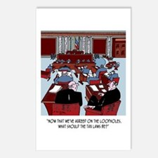 First the Loopholes, then the Tax Law Postcards (P