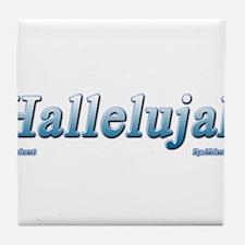 Hallelujah Tile Coaster