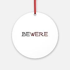 BeWere Werewolf Ornament (Round)