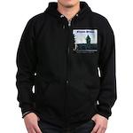 Folsom Prison Zip Hoodie (dark)