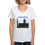 Folsom Prison Women's V-Neck T-Shirt
