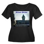 Folsom Prison Women's Plus Size Scoop Neck Dark T-