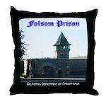 Folsom Prison Throw Pillow
